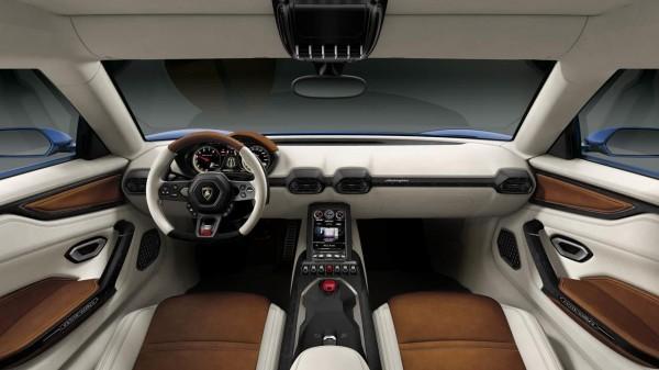 Lamborghini Asterion Hybrid Concept interiors