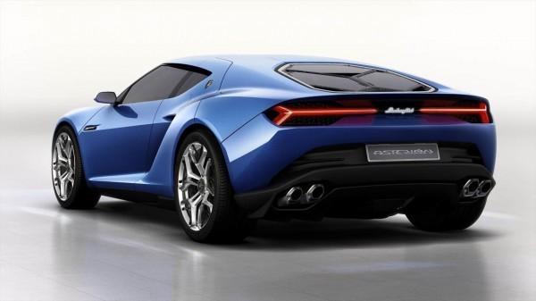 Lamborghini Asterion Hybrid Concept rear profile