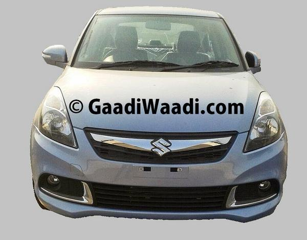 Maruti Swift Dzire facelift front fascia gets chrome grille