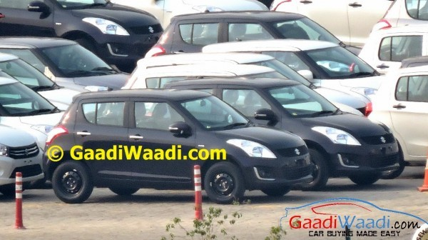 Maruti Swift facelift chrome door handles