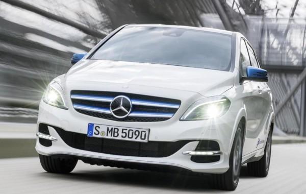 Mercedes-Benz B-Class facelift