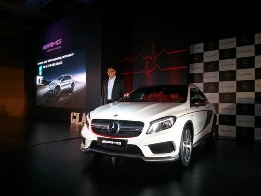 Mercedes-Benz GLA 45 AMG launched