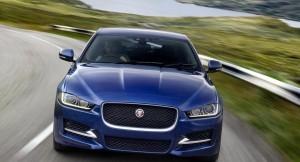 New Jaguar XE Sedan front face