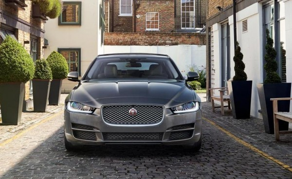 New Jaguar XE Sedan front grille