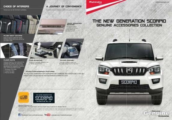 New Mahindra Scorpio Accessories for interiors