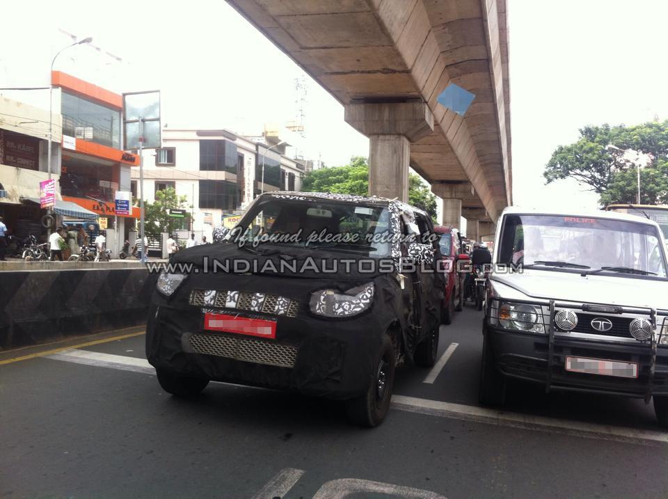 New Mahindra U301 Bolero spotted in Chennai