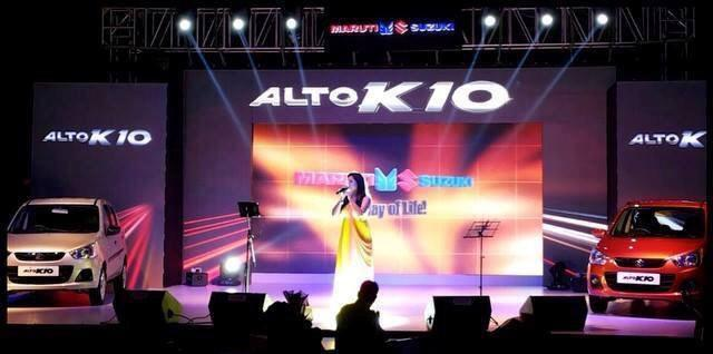 New Maruti Alto K10 premiered