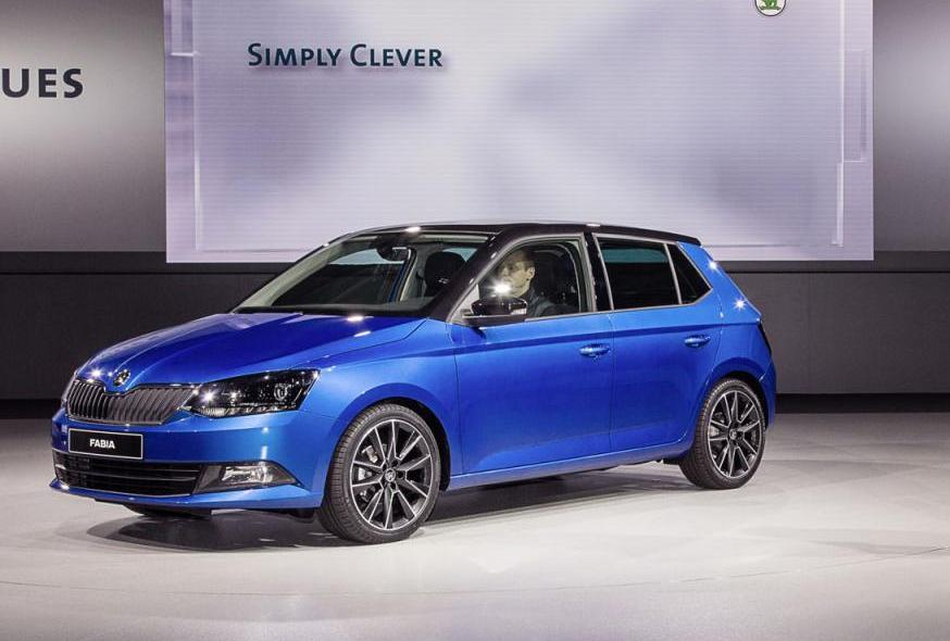 New Skoda Fabia at Paris Motor Show