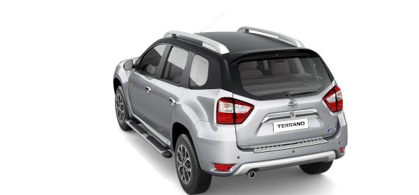 Nissan Terrano Anniversary Edition rear end