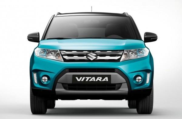 Suzuki Vitara compact SUV front grille and headlamps