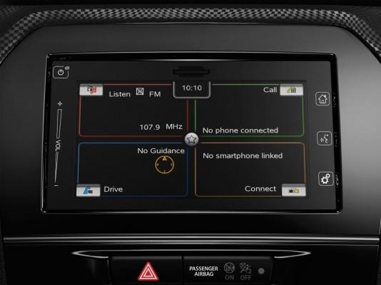 Suzuki Vitara compact SUV infotainment and MMI