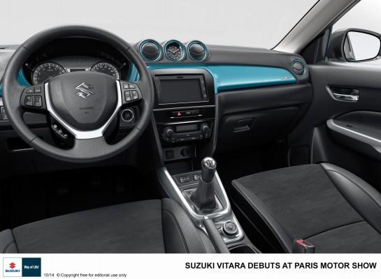 Suzuki Vitara compact SUV interiors