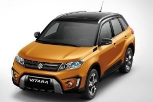 Suzuki Vitara compact SUV top view