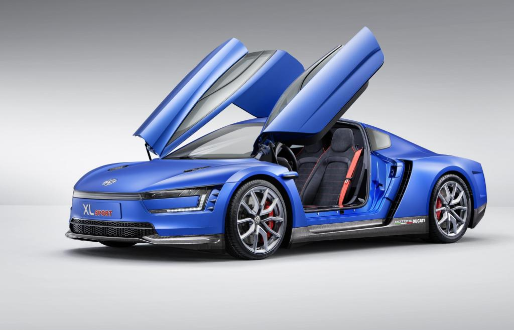 Volkswagen XL Sport side profile