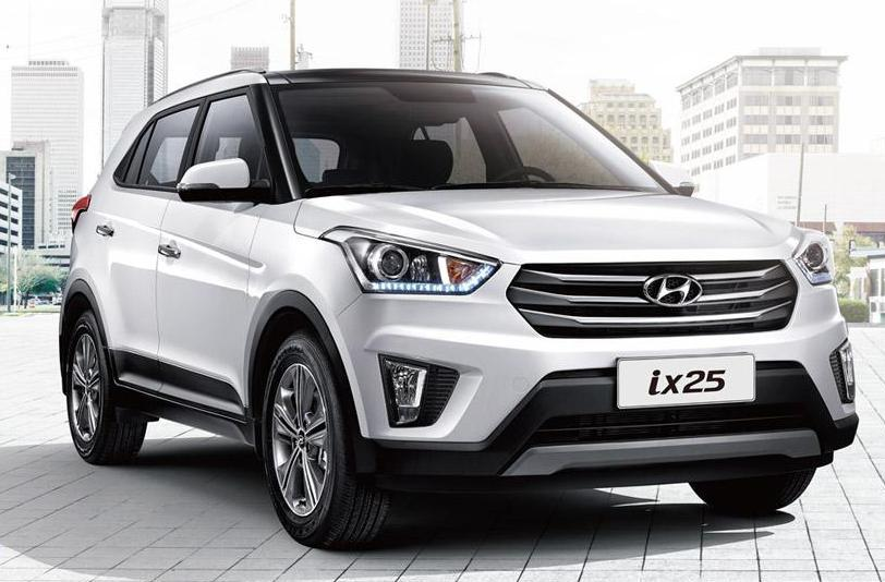 Hyundai ix25's production model unveiled in China