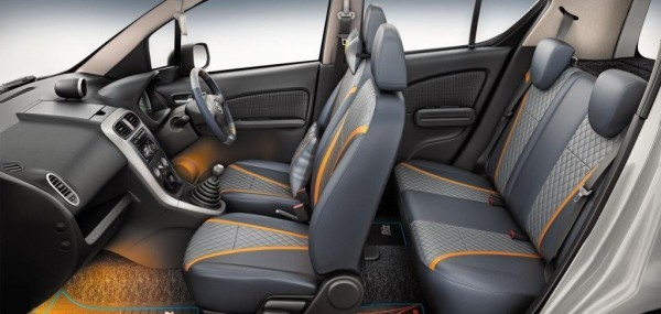 Maruti Ritz Elate limited edition interiors