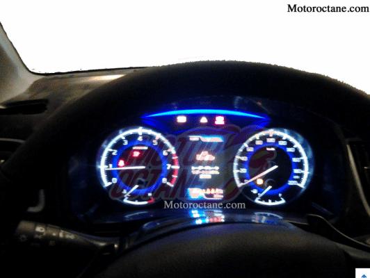 Maruti Suzuki YRA Premium hatchback instrument cluster