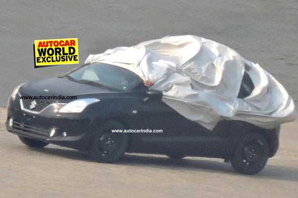 Maruti Suzuki YRA Premium hatchback spotted in India