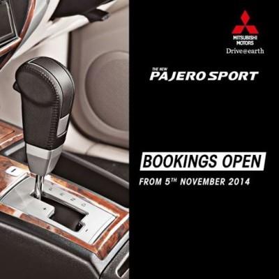 Mitsubishi Pajero Sport AT teased
