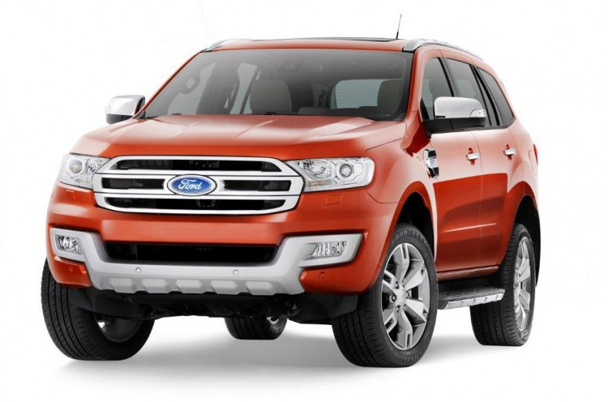 New 2015 Ford Endeavour front face