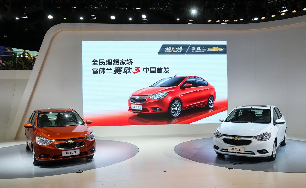 New Chevrolet Sail 3 sedan unveiled
