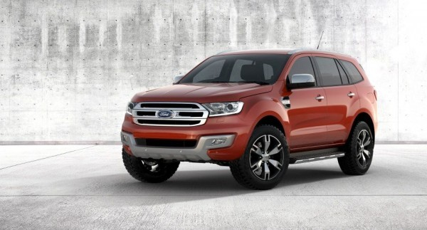 New Ford Endeavour gets 225mm of ground clearance
