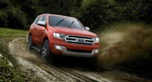 New Ford Endeavour showing its off-roading capabilityNew Ford Endeavour showing its off-roading capability