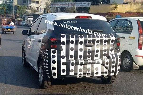 New Ford Figo spied in IndiaNew Ford Figo spied in India