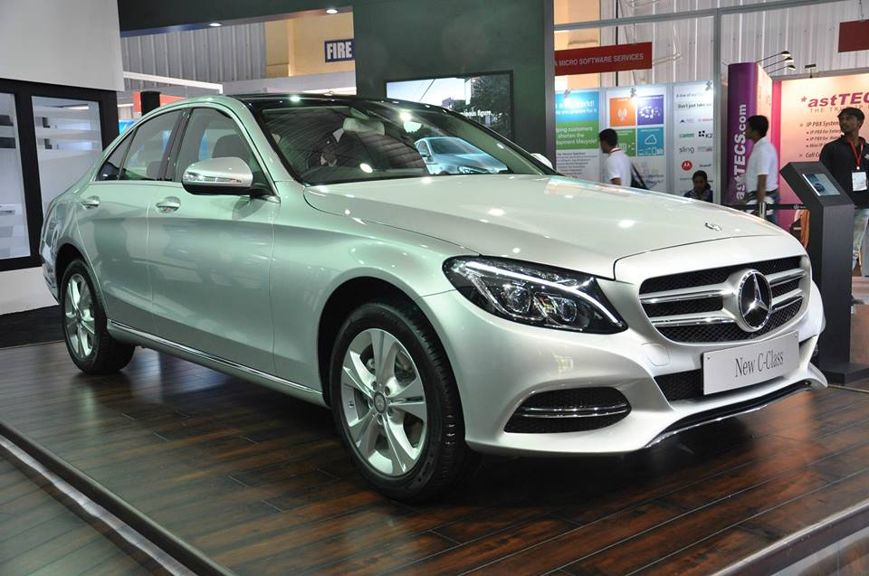 New Mercedes-Benz C-Class showcased in Bangalore