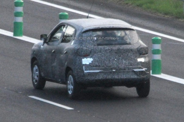 Renault's sub-compact SUV rear profile