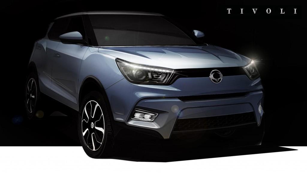 SsangYong Tivoli compact SUV