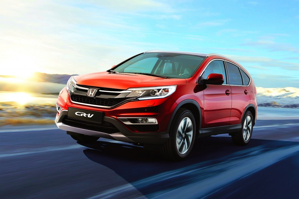2015 Honda CR-V facelift Euro Spec unveiled