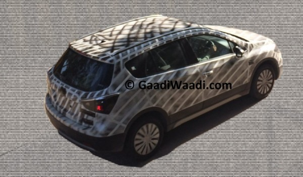 2015 Maruti SX4 S-Cross spied rear end