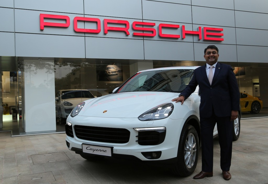 2015 Porsche Cayenne facelift launched