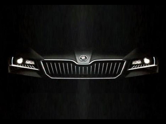 2016 Skoda Superb teaser