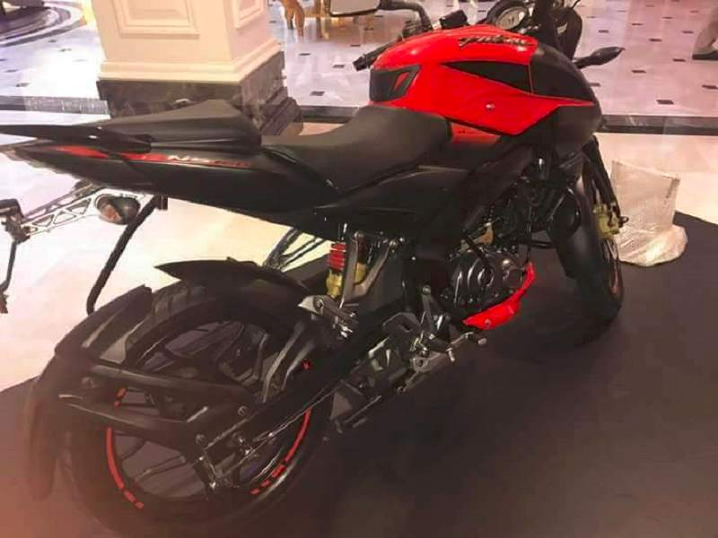 2017 Bajaj Pulsar 160NS side profile