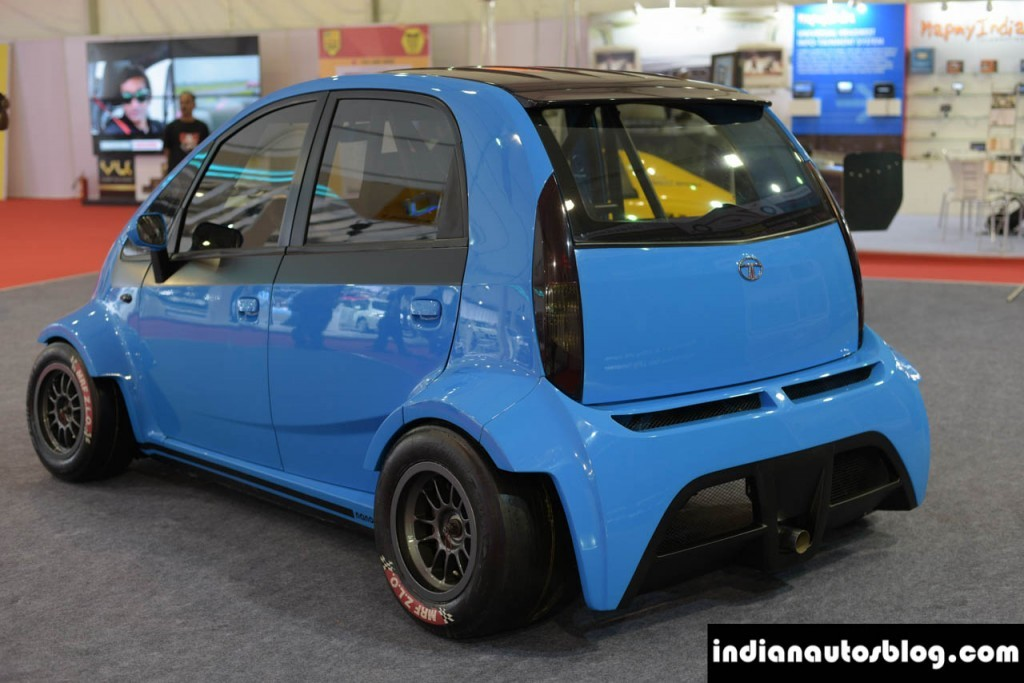 230bhp super tata nano unveiled priced at rs 25 lakh. Black Bedroom Furniture Sets. Home Design Ideas