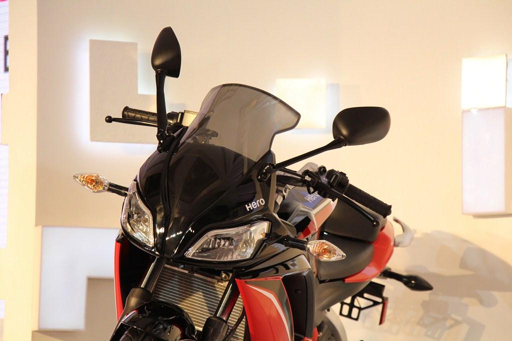 Hero HX250R front profile