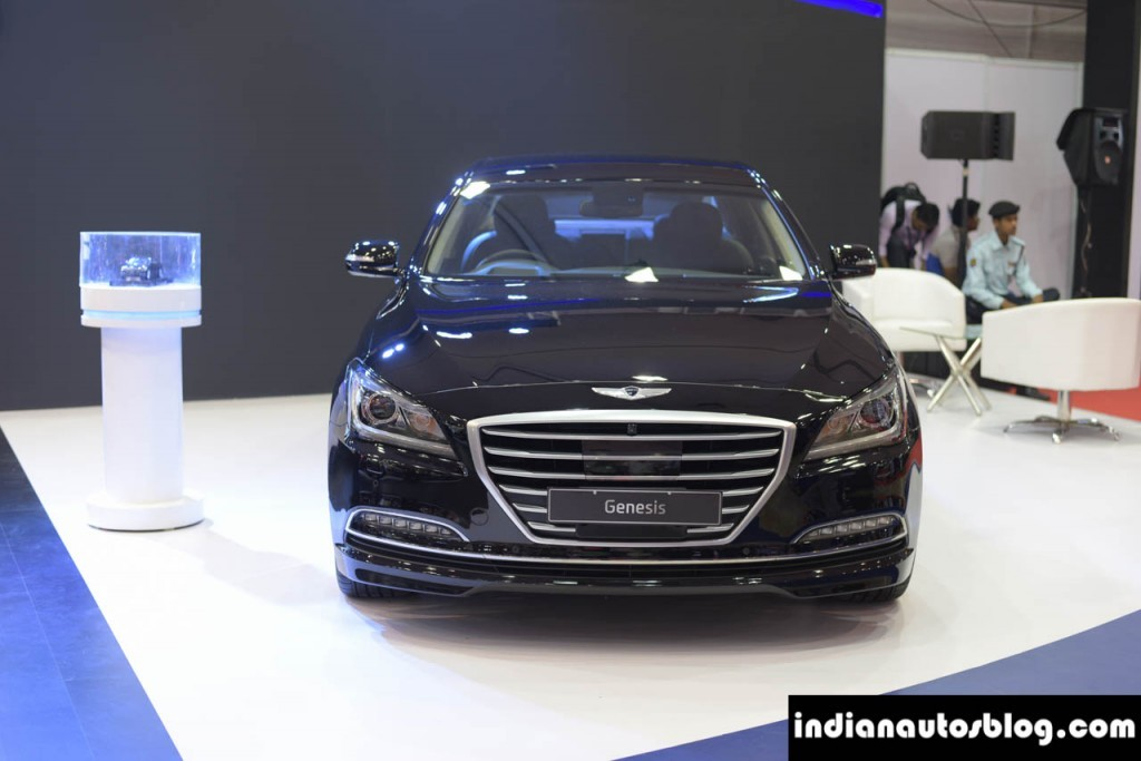 Hyundai Genesis showcased in India