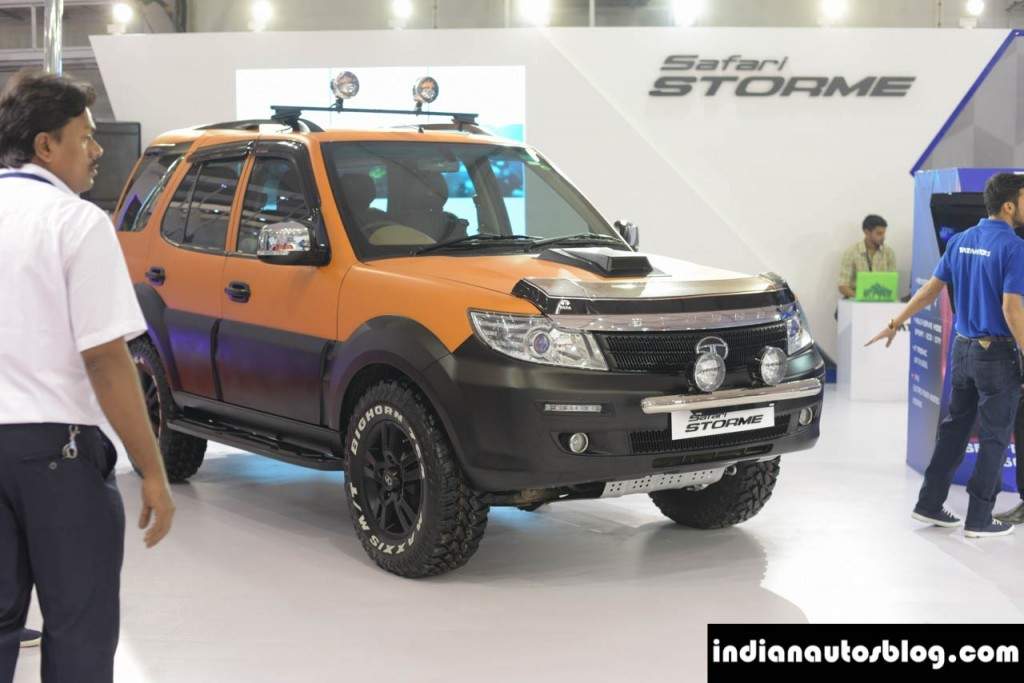 Modified Tata Safari Storme unveiled