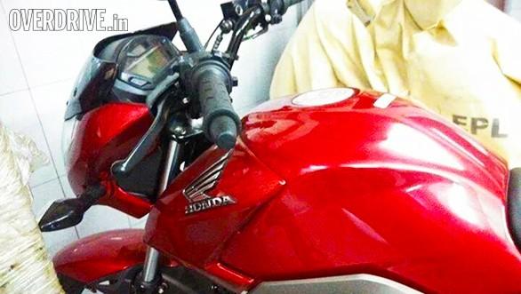 New Honda CB Unicorn 160 fuel tank