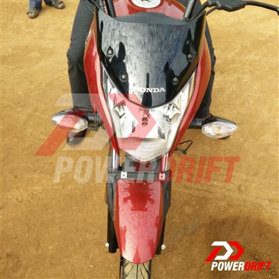 New Honda CB Unicorn 160 spied front