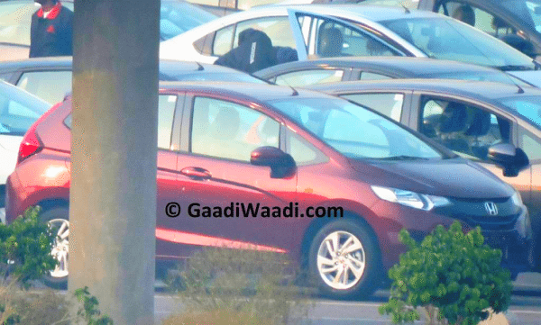 New Honda Jazz spotted in India