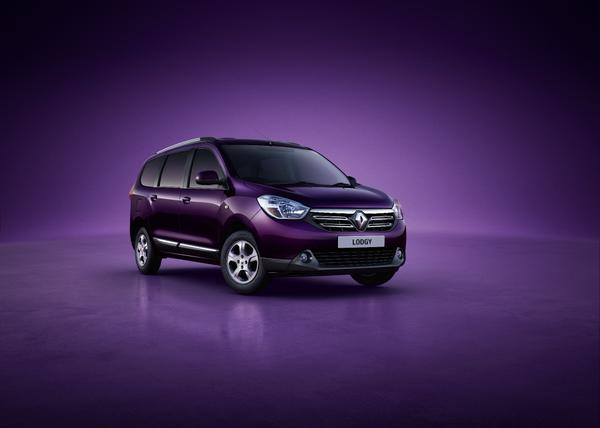 Renault Lodgy MPV official image out