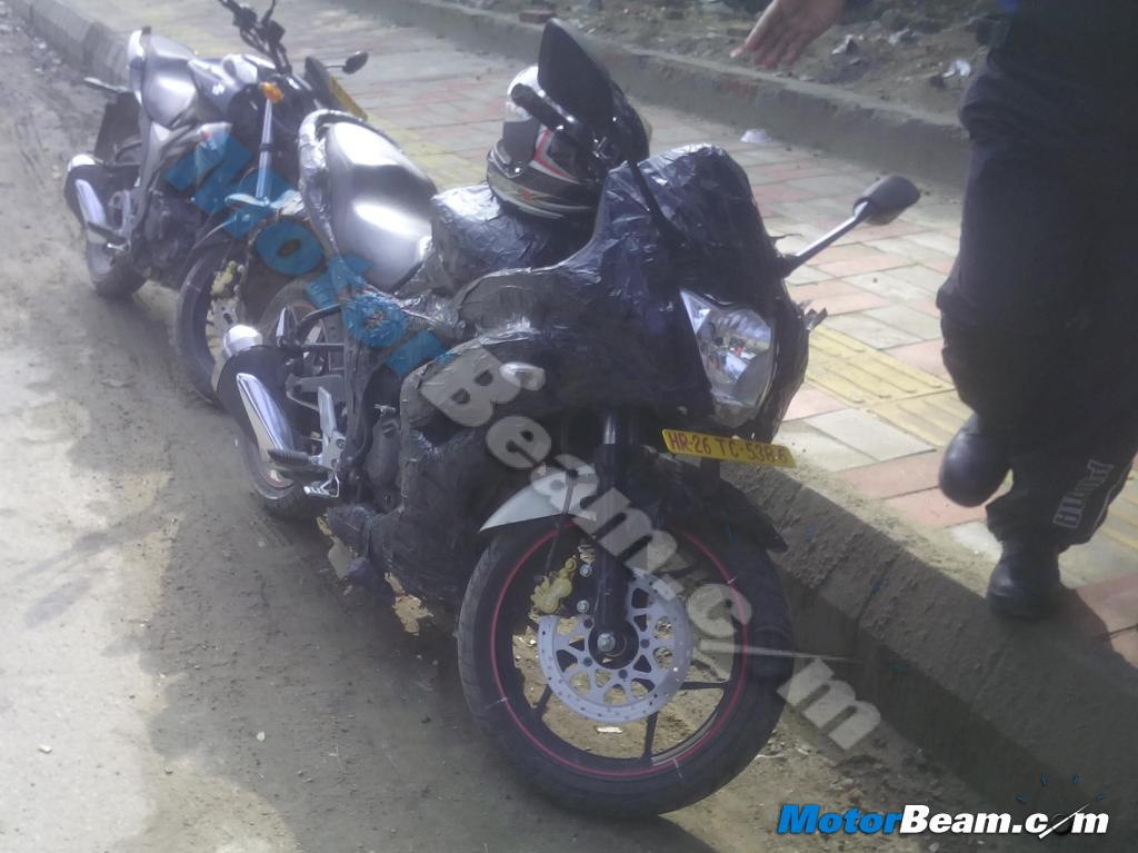 Suzuki Gixxer based fully faired motorcycle