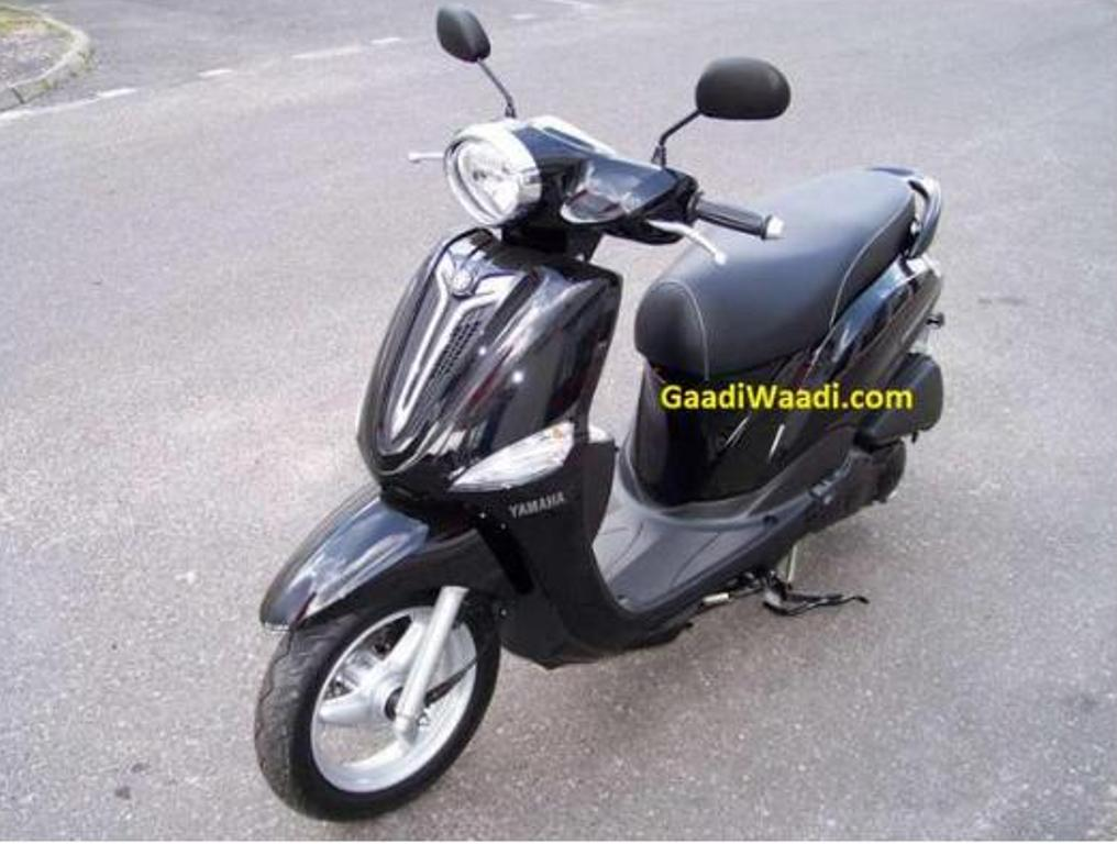 Yamaha Delight Scooter spied in India