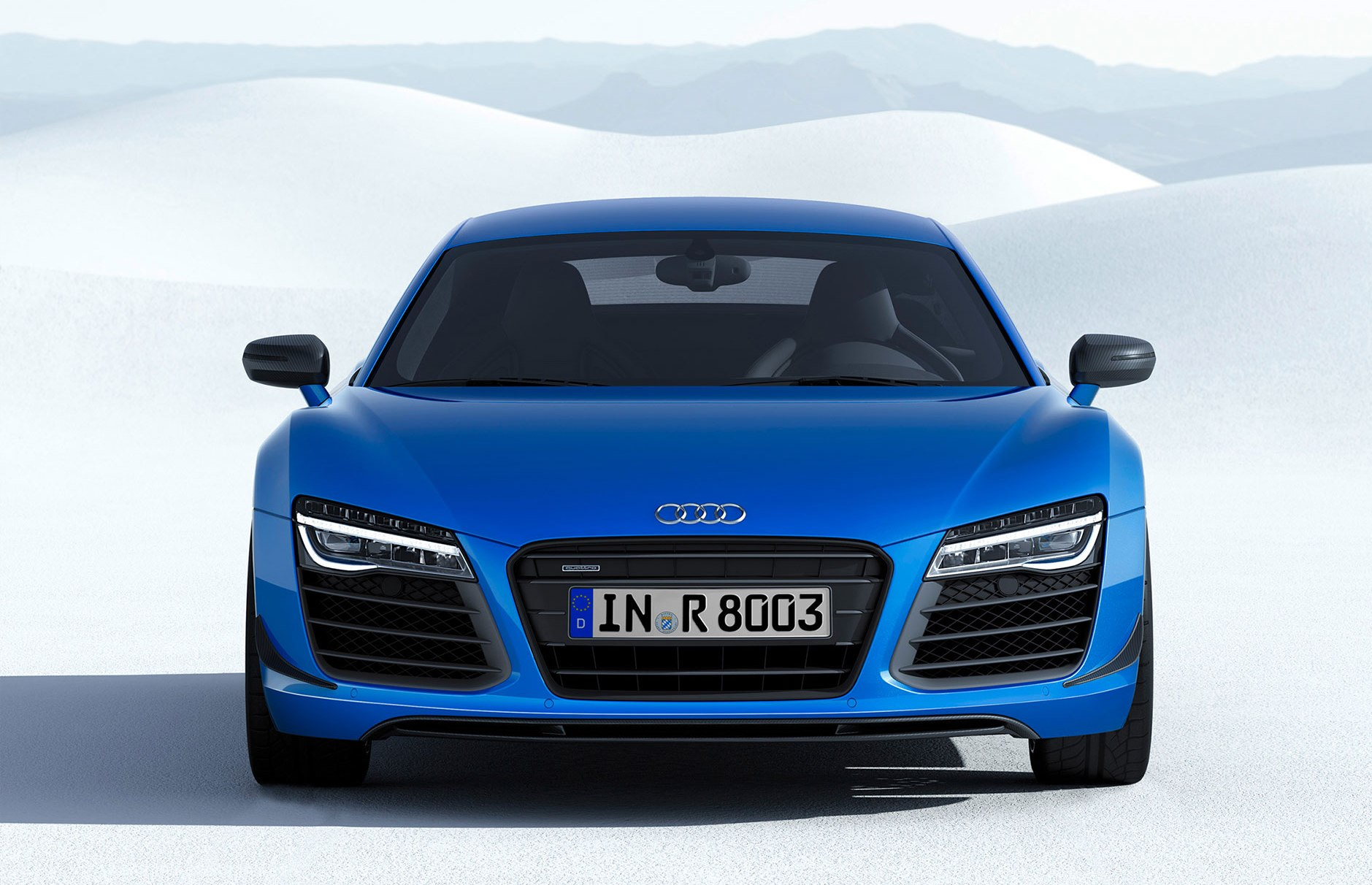Audi R8 LMX with laser headlamps