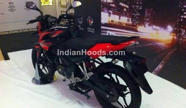 Bajaj Pulsar 160 NS leaked rear