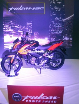 Bajaj Pulsar 160 NS leaked side
