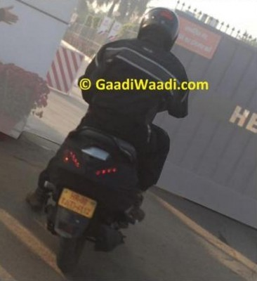 Hero Dash 110 Spied rear